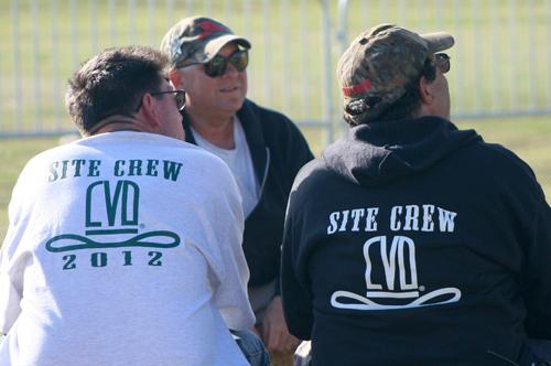 CVD site crew members